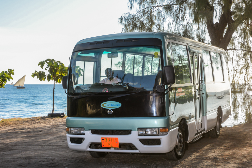 ZanTours vehicle fleet - 22 seater
