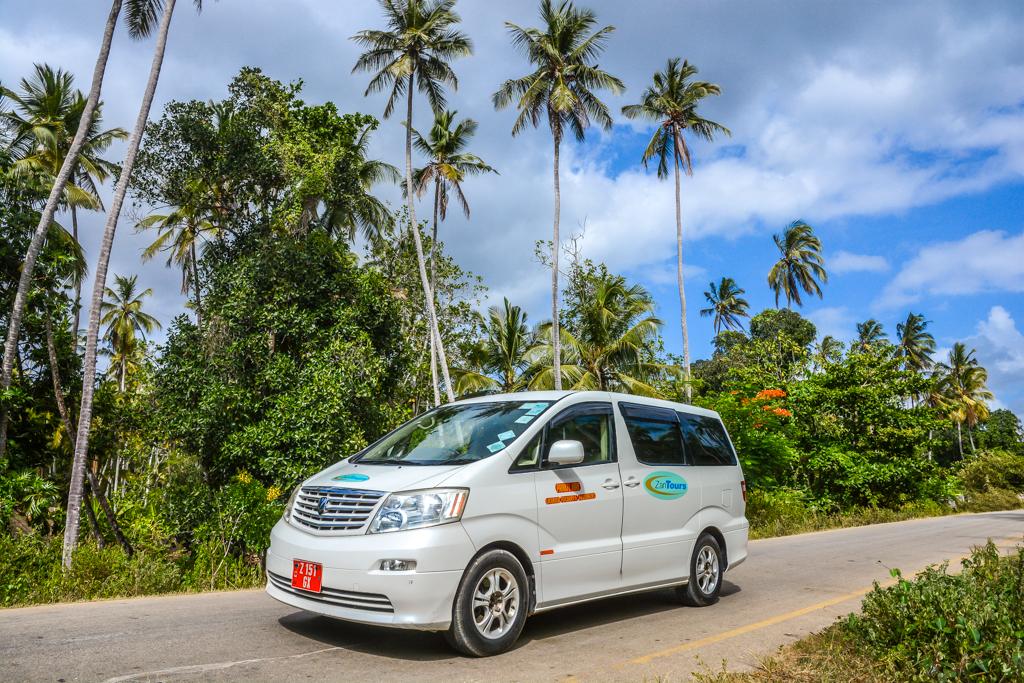 ZanTours vehicle fleet - Toyota Alphard