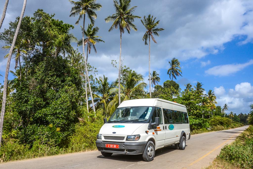 ZanTours vehicle fleet - 14 seater
