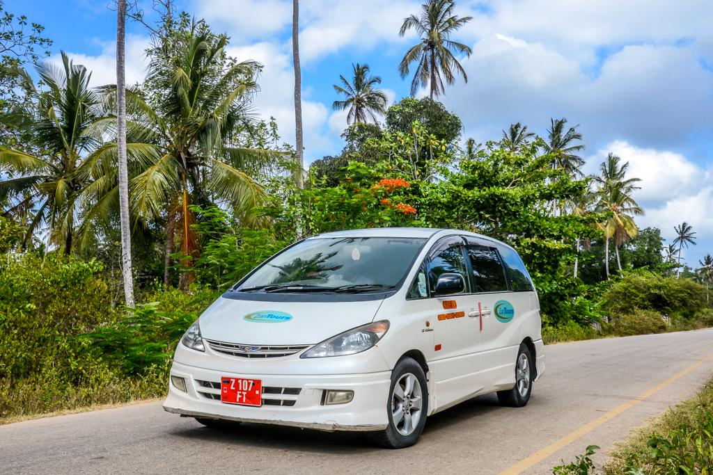 ZanTours vehicle fleet - Toyota Estima