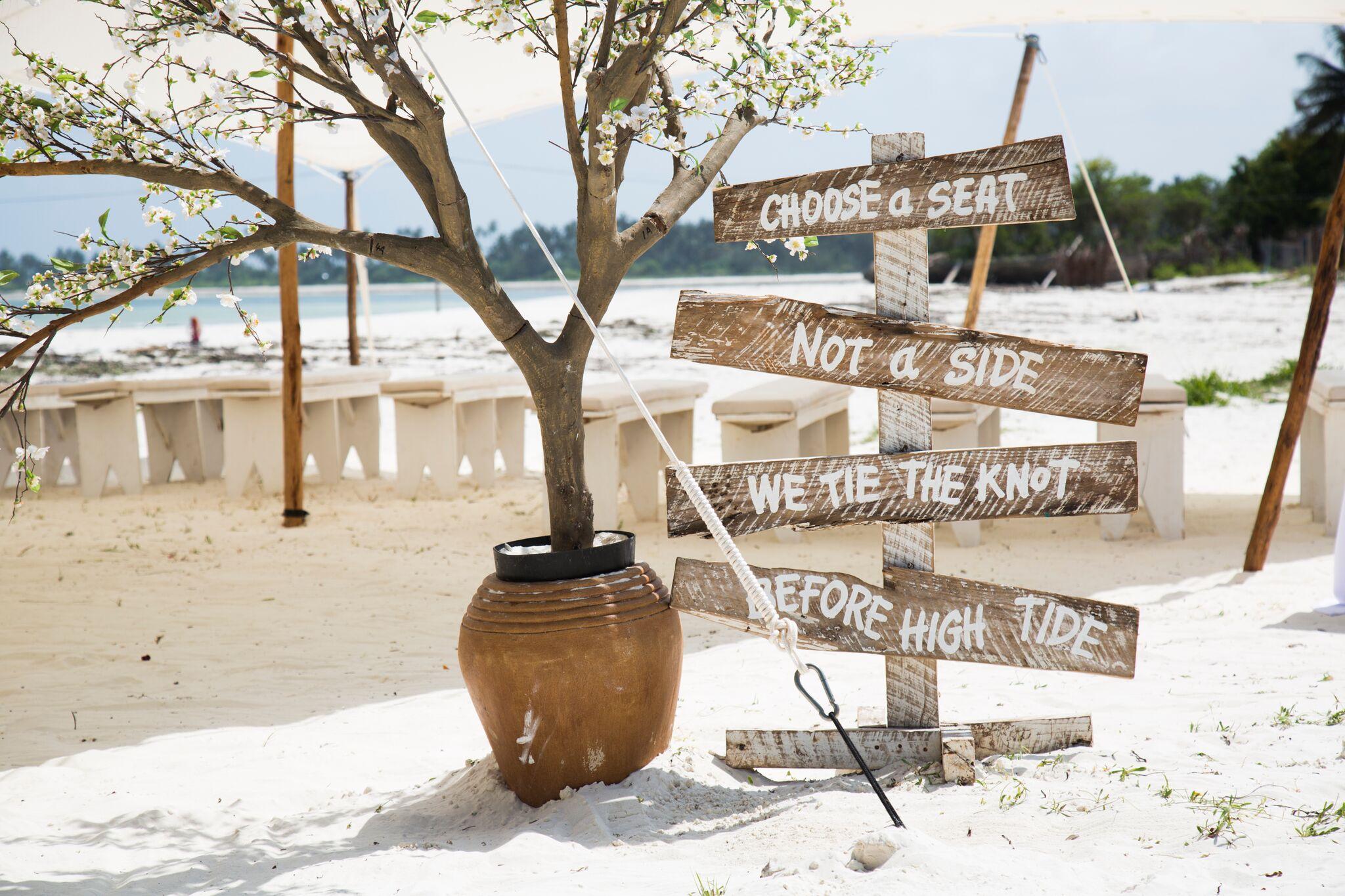 Zanzibar Beach Wedding
