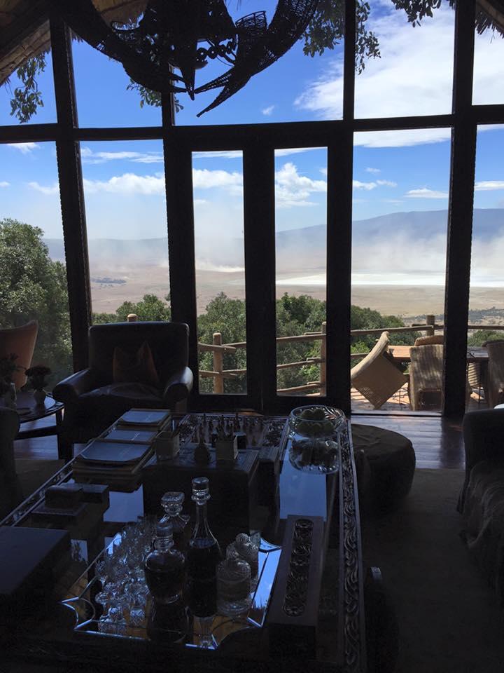 Luxury Travel Tanzania - Ngorongoro Crater Lodge